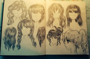 Hair Attempt by baagel