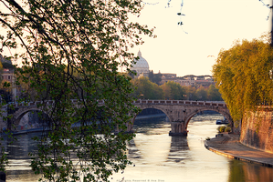 Sunset Over Rome by Ana-D
