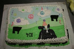 Ben and Jerry's Cow Cake by sunfoot