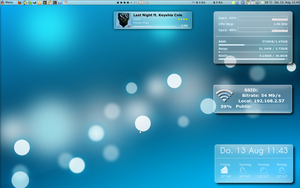 conky air kde4 look by BigRZA