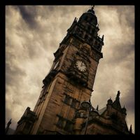 Instagram: Sheffield Town hall by MidnightBlueTopaz