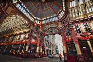 Leadenhall Market by roodpa