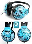 Cat and Raccoon Headphones by Bobsmade