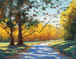 Autumn Mt Wilson by artsaus