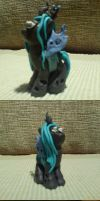 Chrysalis figurine. ^_^ by Lojla