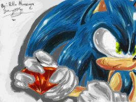 Sonic... by sonamy94fan