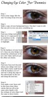 Eye Color Change Tutorial by Ash-Marie