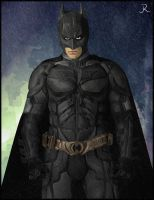 Batman (TDKR) by SpideyVille