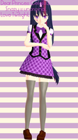 MMD NEWCOMER Twilight Sparkle ... Desu by Snazy