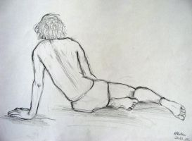sketch of boy2 by Agatzor