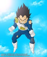 Vegeta Color by ovakpo23