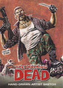 Commission The Walking Dead by MatiasStreb