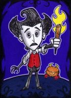ACEO - Dont Starve by Goldy--Gry