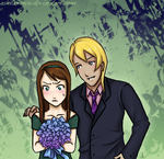 Klavier and Ema by AshitaMaya