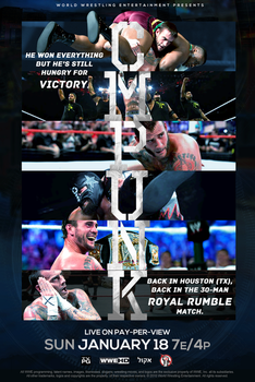 CM PUNK IS BACK TO WWE - ROYAL RUMBLE 2015 by Lucke49