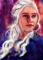 Not a Queen, a Khaleesi by leprekhanh