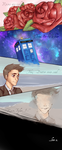 Roses are red,The Tardis is blue... by Naomi024