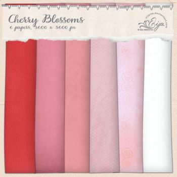 Cherry Blossoms paper pack by Eijaite
