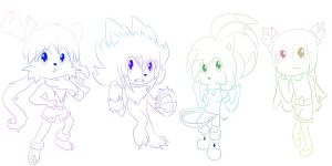 Chibi Comissions by fansonic