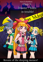 Cover Chap 5- Disaster! Tokyo in Trouble! by BiPinkBunny