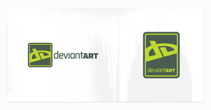 DeviantART Logo by TheRyanFord