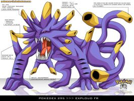 Pokedex 295 - Exploud FR by Pokemon-FR