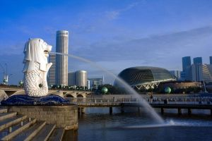 Singapore Merlion II by josgoh