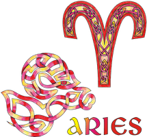 Celtic Knot Aries by KnotYourWorld