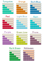 Pixel Progress Bars by huina
