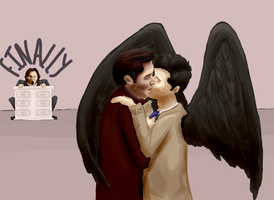 MORE Destiel V. 2 by annabelllee125