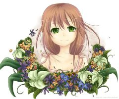 Flower Girl by kayuki-san