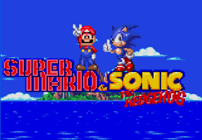 Super Mario in Sonic The Hedgehog 3 by PhrexMarioGamer