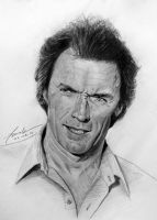 Clint Eastwood by FrankGo