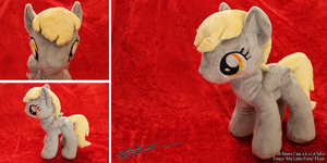 Derpy Hooves My Little Pony Plushie by LiChiba