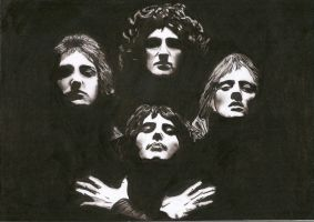 Queen Bohemian Rhapsody by Slayerlane