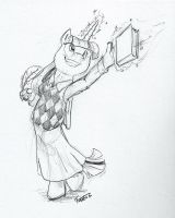 Librarian Princess by Its-Thraten