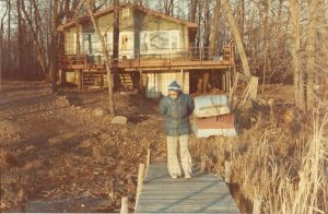 Grandma at the Cabin by DarlingChristie