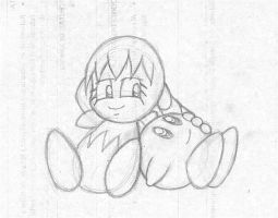 WIP - Kirby and Tiff by migueruchan