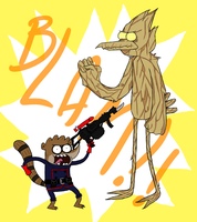 Rocket Rigby and Mordegroot by YouEatBugs