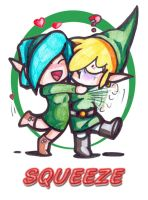 Link and Saria by animefuzz
