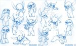 Stitch Sketches by EddieHolly