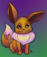 Eevee by skeletall