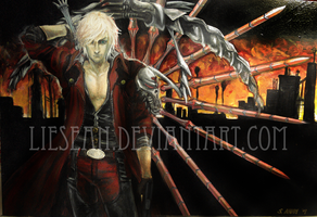 Devil May Cry 4 _ Dante by liesean