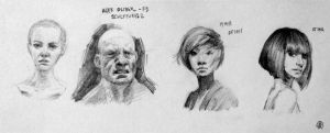 Head Studies by failstarforever