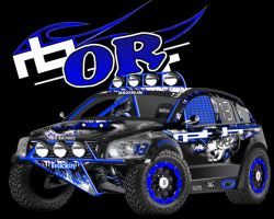 Dodge Caliber Trophy Truck by remingtonbox