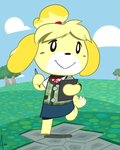 Animal Crossing New Leaf: Isabelle by Dreatos
