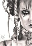 Emilie Autumn by crayon2papier