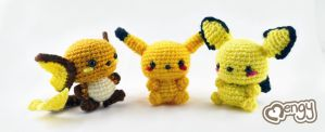 Pika Evo by mengymenagerie