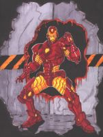 Iron Man by Mawnbak
