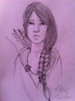 Katniss everdeen - The Hunger Games by soapypotterhead